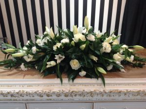 Coffin Top From Daisy Bumbles local Tipton Florist