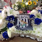 West Bromwich Albion Funeral Flowers