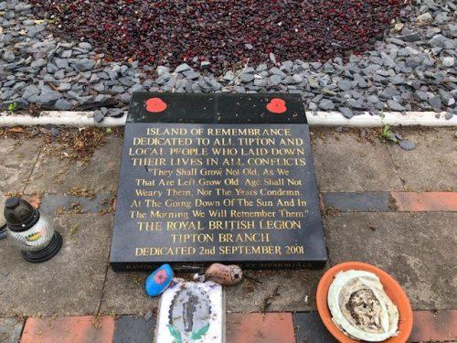 Daisy Bumbles Tipton Cemetery